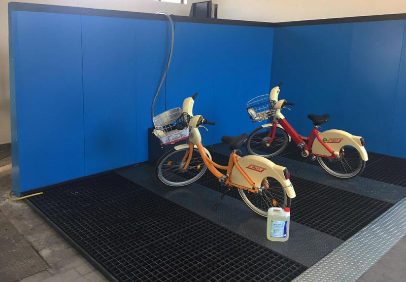 lavaggio bici